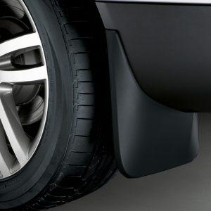 Брызговики задние Audi Q7 (4M), для автомобилей с пакетом S-Line