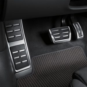 Накладки на педали Audi Q7 (4M), для АКПП с опорой для ноги