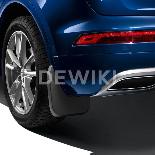 Брызговики задние Audi Q8, для автомобилей с пакетом S-Line
