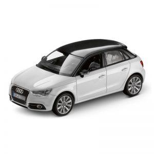 Модель в миниатюре Audi A1 Sportback, Glacier white, масштаб 1:43