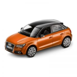Модель в миниатюре Audi A1 Sportback, Samoa orange, масштаб 1:43