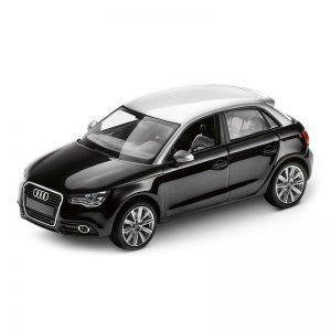 Модель в миниатюре Audi A1 Sportback, Phantom black, масштаб 1:43