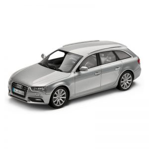Модель в миниатюре Audi A4 Avant, Ice silver, масштаб 1:43