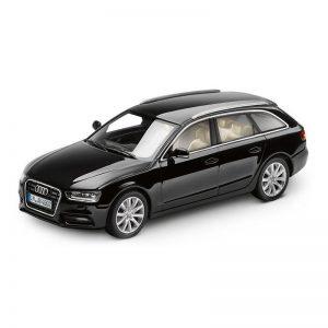 Модель в миниатюре Audi A4 Avant, Phantom black, масштаб 1:43