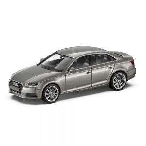 Модель в миниатюре Audi A4, Cuvéesilber, масштаб 1:87