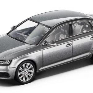 Модель в миниатюре Audi A4, Floret silver, масштаб 1:43