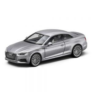 Модель в миниатюре Audi A5 Coupe, Floret Silver, масштаб 1:87