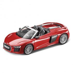 Модель в миниатюре Audi R8 Spyder, Dynamite Red, масштаб 1:43