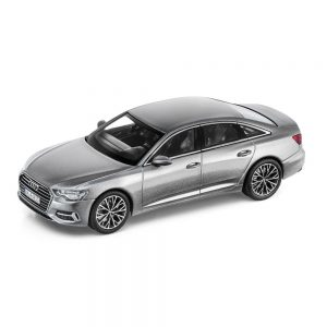Модель в миниатюре Audi A6, Taifun Grey, масштаб 1:43