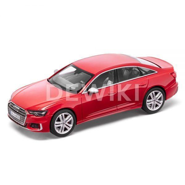 Модель в миниатюре Audi S6 limited 2019, Tango Red, масштаб 1:43