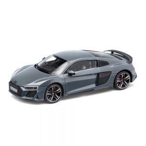Модель в миниатюре Audi R8 Coupe MY19, Kemora Grey, масштаб 1:43