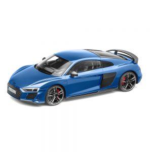 Модель в миниатюре Audi R8 Coupe MY19, Ascari Blue, масштаб 1:18