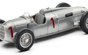 Модель в миниатюре Auto Union Typ B, Silver, масштаб 1:43