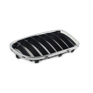 Передняя правая решетка радиатора BMW E84 X1, Chrome/Black