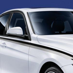 Акцентные боковые полосы BMW M Performance F30/F31 3 серия