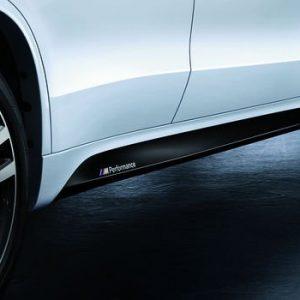 Пленка для облицовок порогов BMW M Performance F15/F16 X5 и X6