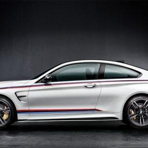 Боковые спортивные полосы BMW M Performance F82 M4