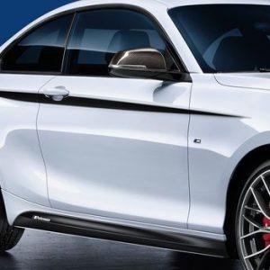 Акцентные полосы BMW M Performance F21/F23/F22 1 и 2 серия