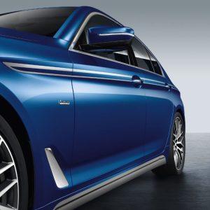 Акцентные полосы на пороги BMW G30/G31 5 серия