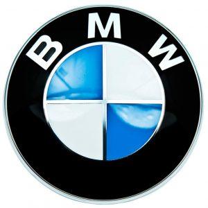 Эмблема BMW на большой центральный кофр 49 литров