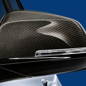 Левая карбоновая крышка наружных зеркал заднего вида BMW M Performance X1, M2, 1, 2, 3, и 4 серия