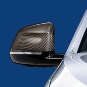 Правая карбоновая крышка наружных зеркал заднего вида BMW M Performance F25/F26/F15/F16 X3, X4, X5, X6
