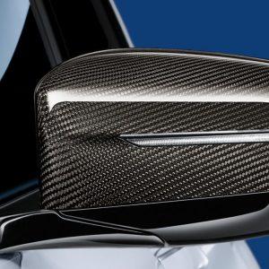 Левая карбоновая крышка наружных зеркал заднего вида BMW M Performance G30/G31/G11/G12/G15