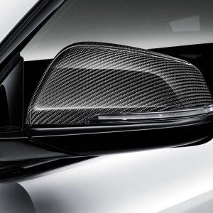 Левая карбоновая крышка наружных зеркал заднего вида BMW M Performance F46/F45/F48 2 серия и X1