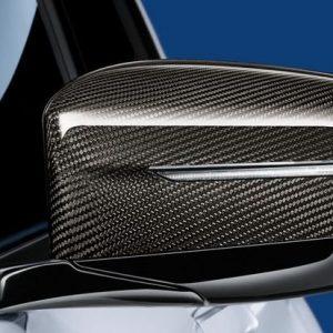 Правая карбоновая крышка наружных зеркал заднего вида BMW M Performance G20 3 серия
