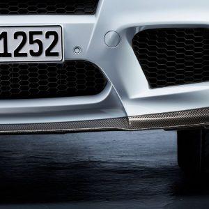 Передний карбоновый сплиттер BMW M Performance E70/E71 X5 и X6