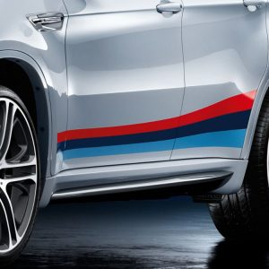 Боковые правые облицовки порогов BMW M Performance E71 X6
