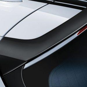 Задний спойлер BMW M Performance черного матового цвета F31 3 серия