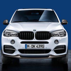 Передняя карбоновая накладка BMW M Performance F15 X5