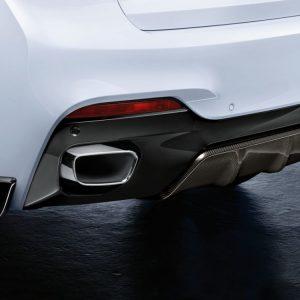 Карбоновый задний диффузор BMW M Performance F15/F85/F16/F86 X5, X5 M, X6, X6 M