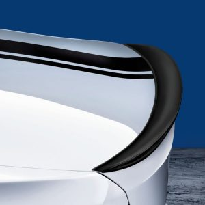 Задний спойлер BMW M Performance черного матового цвета F30 3 серия
