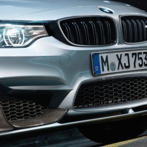 Карбоновые накладки переднего бампера BMW M Performance слева/справа F80/F83/F82 M3 и M4
