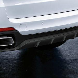 Задний диффузор BMW M Performance черного матового цвета F15 X5