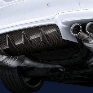 Карбоновый задний диффузор BMW M Performance F10 5 серия