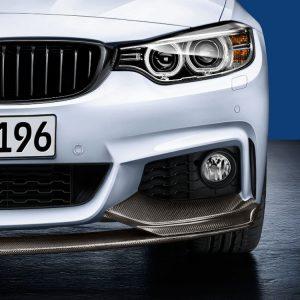 Передняя карбоновая накладка BMW M Performance F32/F36 4 серия