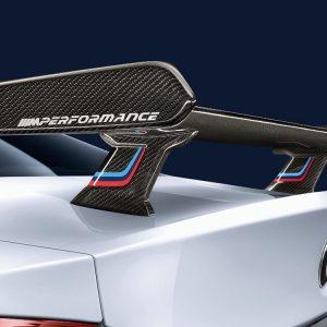Задний карбоновый спойлер, сквозной, цветной BMW M Performance F32/F82 4 серия и M4