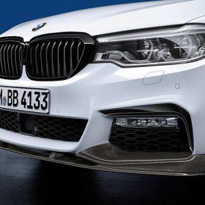 Передняя карбоновая накладка BMW M Performance G30/G31 5 серия