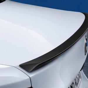 Задний спойлер BMW M Performance черного матового цвета G30 5 серия