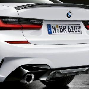 Карбоновый задний диффузор M Performance для BMW G20 3-серия