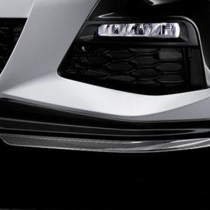 Карбоновая накладка бампера левая  M Performance для BMW G20 3-серия