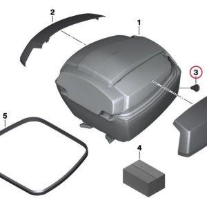 Ремонтный набор для запорного цилиндра топкейса BMW C 600 / 650 GT / Sport / C evolution 2011-2019 год