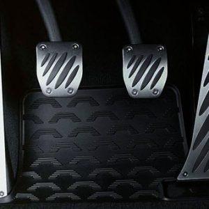 Алюминиевая подставка для левой ноги BMW Performance E72/E70/E53/E70/E71 X5 и X6