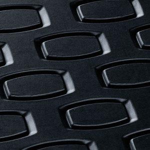 Резиновые задние коврики BMW E65 7 серия, Anthracite