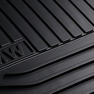 Резиновые задние коврики BMW F07 GT 5 серия, Black