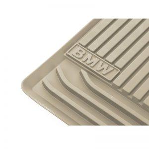 Резиновые задние коврики BMW F07 LCI GT 5 серия, Biege