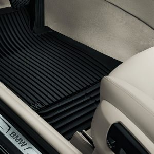 Резиновые передние коврики BMW F10/F11 5 серия, Black